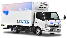 ローソン、水素を燃料とした「燃料電池小型トラック」を導入の概要写真