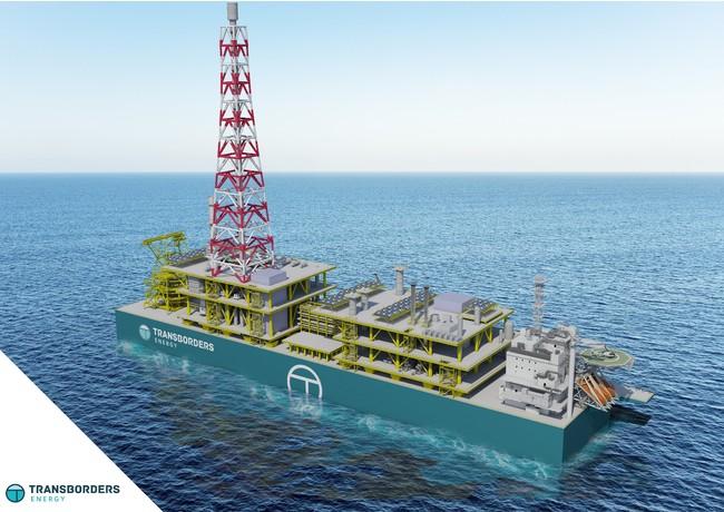 海洋ストランデッドガス田商業化プロジェクト・フローティングLNG(FLNG)ソリューションの概要写真