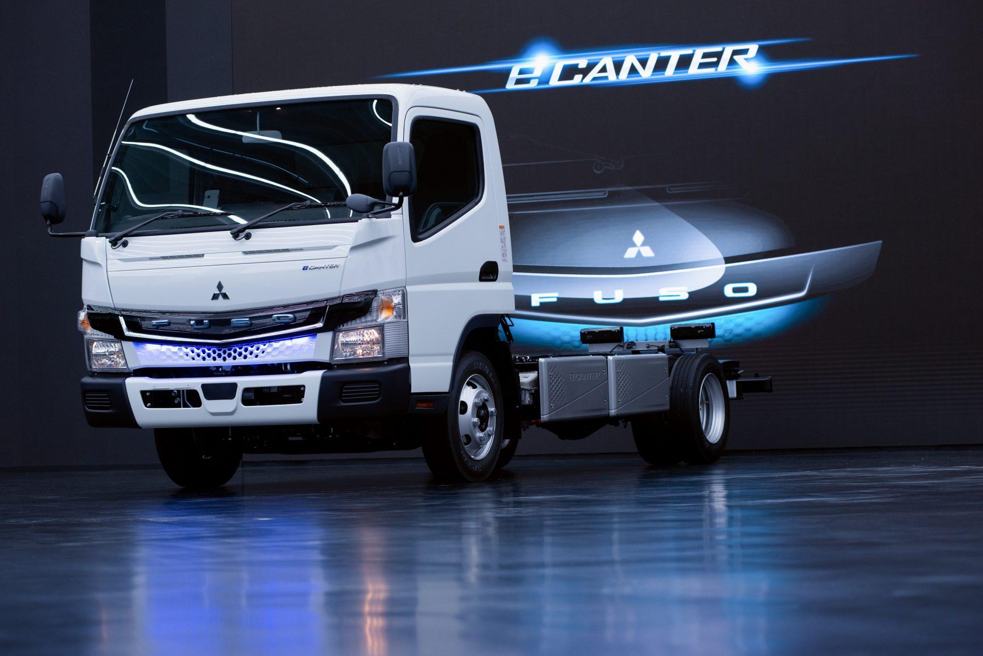電気小型トラック「eCanter」: 納車台数がグローバルで200台に到達の概要写真