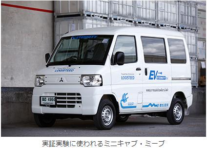三菱自動車、タイで軽商用EVの実証実験に関する覚書を締結の概要写真