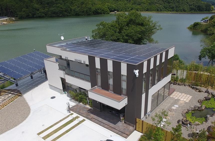 デルタ電子「太陽光生活研究所」を開設 環境共生型メガソーラー・赤穂エナジーパーク内に設立の概要写真