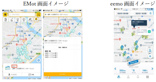 REXEVが小田急電鉄とMaaS領域で連携の概要写真