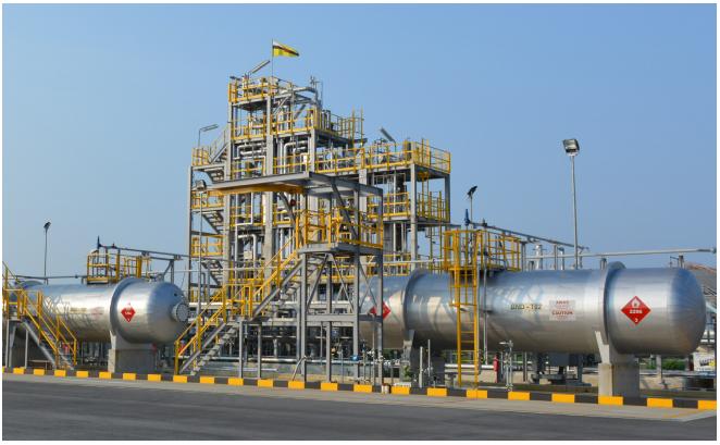 製油所で脱炭素化を目指す水素サプライチェーン実証実験に、組合がMCHをブルネイから輸送・供給の概要写真