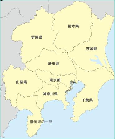 東京ガスの電気供給エリア