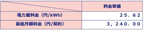 中国電力の料金プラン詳細