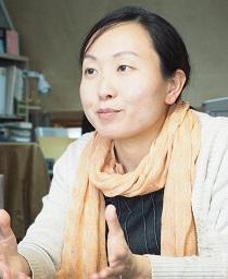 FoE Japan パワーシフト・キャンペーン事務局の吉田明子氏