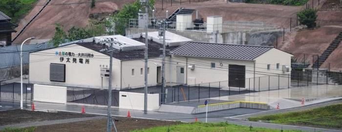 伊太発電所の全景
