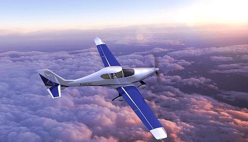 Sun Flyerの飛行イメージ
