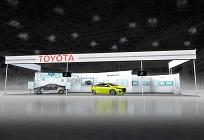 トヨタがスマートコミュニティJapan 2016に出展、太陽光で充電できるプリウスを初披露の写真