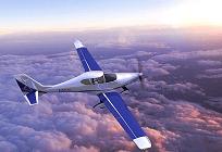 太陽光発電で飛ぶ飛行機、1時間当たりの電力料金はわずか1ドルの写真