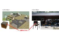スターバックス、太陽光でUSB充電できる椅子を3店舗で導入の写真