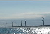 風力発電機の耐用調査サービスの写真