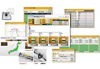 太陽光発電システム監視ソリューションの写真