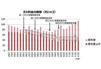 価格と需要から見るガスと電力、都市ガスとLPガス料金の推移と自由化の影響(9)の写真