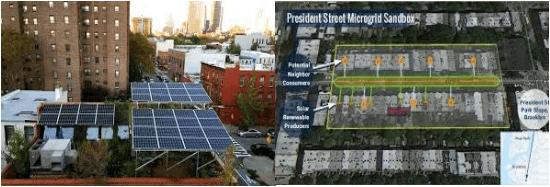 President Streetにおける小規模系統の状況