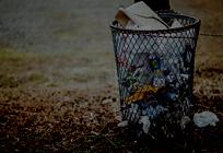 日本のゴミ問題についての写真