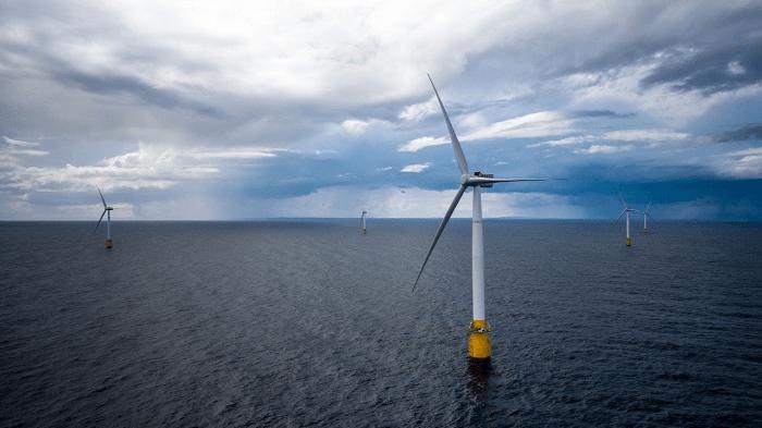 浮体式洋上風力発電所「Hywind Scotland」