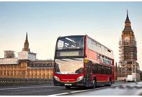 「コーヒーかす」を自動車の燃料に、英ロンドン名物の赤い2階建てバスでエコ燃料採用の写真