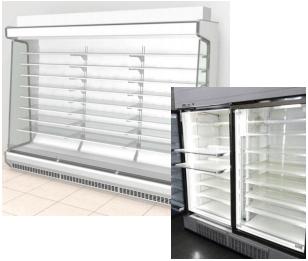 CO2 冷媒を使用した冷凍・冷蔵設備