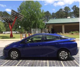 路面型太陽光発電設備