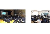 再エネ事業を展開するエコスタイル、豊中市立第八中学校で環境教育、豊中市と協働実施の写真