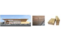ローソン、IoT化された店舗にコンビニ初の国産杉CLT使用、調達電力を6割削減見込みの写真