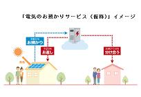 日本初、蓄電池がなくても余った電気を融通するサービス、東電EPが実証試験の写真