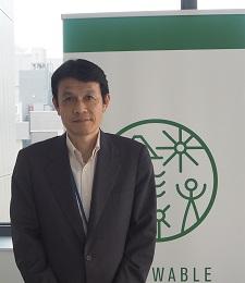 自然エネルギー財団 自然エネルギーグループ マネージャー 石田雅也氏