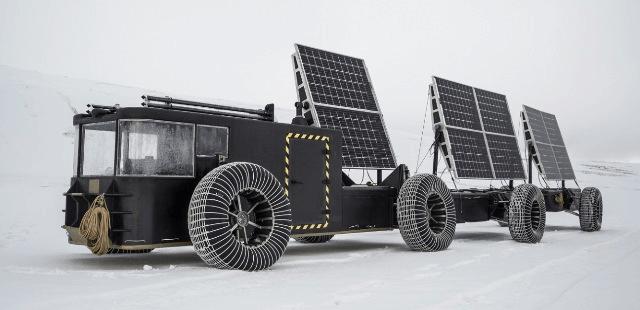 Clean 2 Antarcticaのソーラーカー