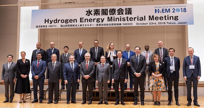 水素閣僚会議 集合写真