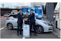 日本初、エネマネ連動型EVカーシェアリング開始、充電電気の再エネ由来や比率見える化等で地域活性化の写真